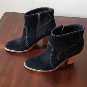Like new Ivanka Trump MANDEL SUEDE BOOTIES